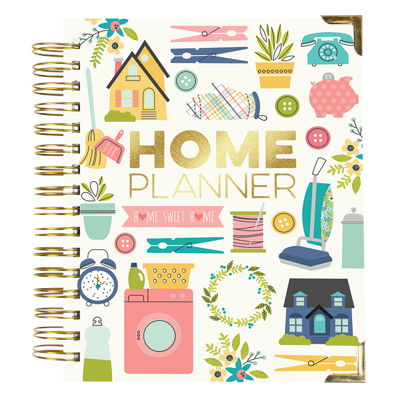 Everyday Living Spiral Planner Home