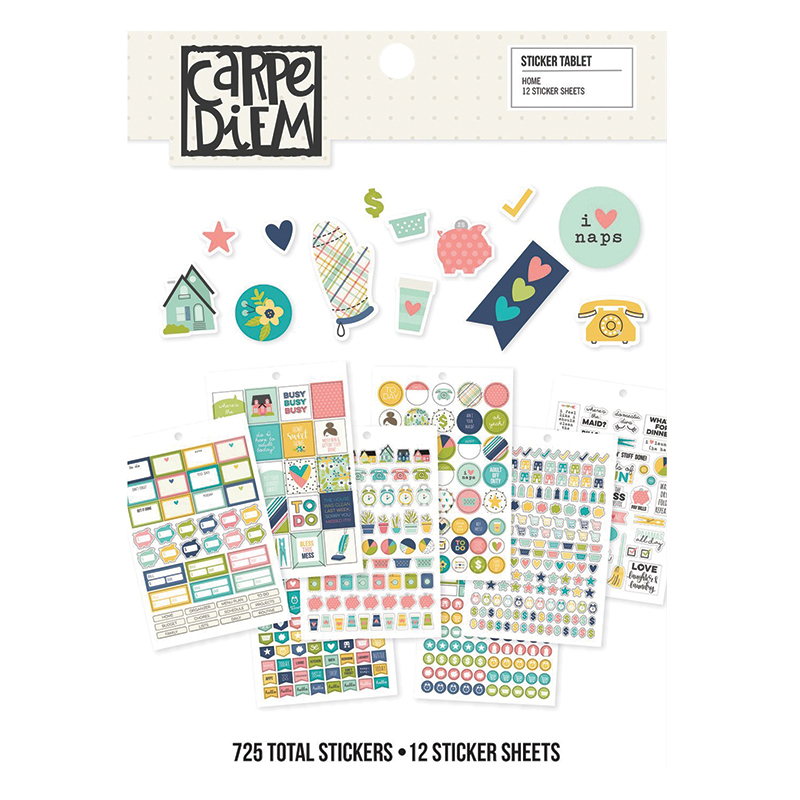 Sticker Pad Home