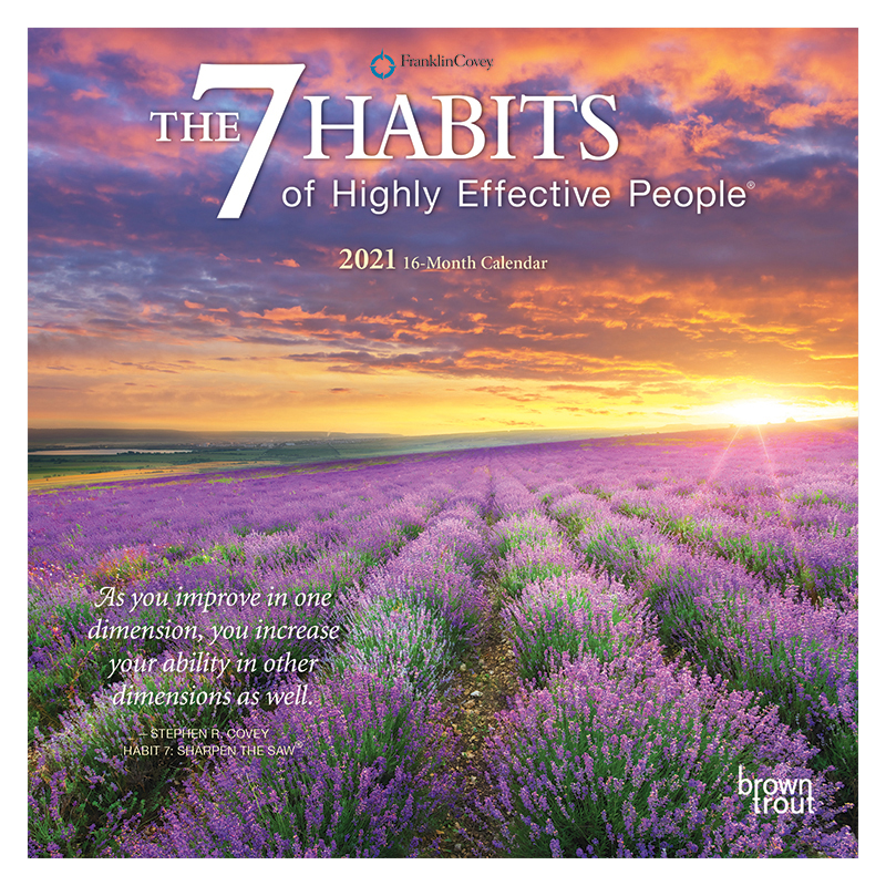 The 7 Habits of Highly Effective People 2021 Mini Calendar