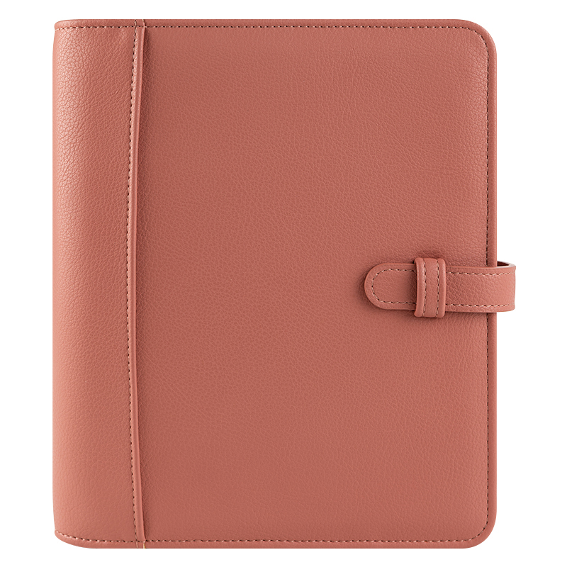 Classic Sierra Simulated Leather Strap Binder - Desert Rose