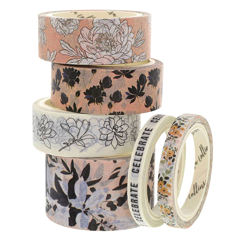 Washi Tape Floral Faves