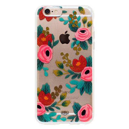 iPhone 6 Case - Clear Rosa 65681