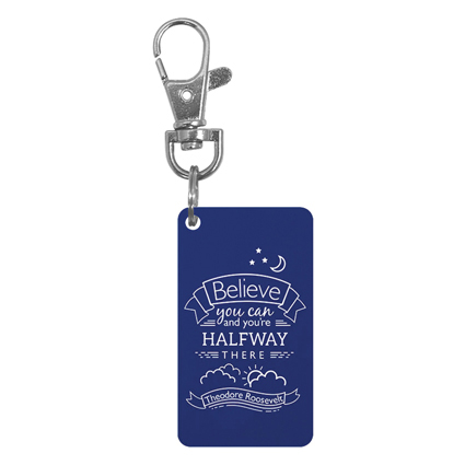 Keychain Charm - Believe You Can