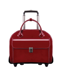 Glen Ellyn Detachable-Wheeled Ladies Briefcase