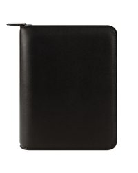 Simulated Leather Zipper Binder