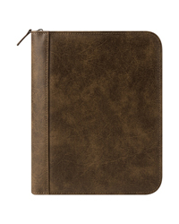 FranklinCovey Basics Distressed Simulated Leather Binder