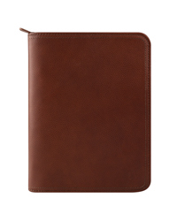 Rylan Leather Zipper Binder