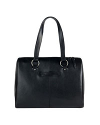 FranklinCovey Signature Leather Laptop Tote
