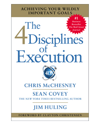 4 Disciplines of Execution Hardcover by Sean Covey