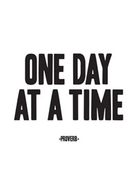 One Day At A Time Magnet