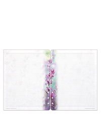 Floral Blooms Lined Pages