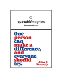 One person can make a difference...Magnet