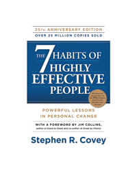 The 7 Habits Of Highly Effective People 25th Anniversary Paperback Book