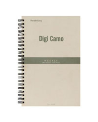 Classic Digi Camo Wire-bound Flex-Dated Weekly Planner
