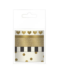 Gold Planner Love Washi Tape