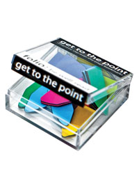 Get to the Point Magnetic Bookmarks