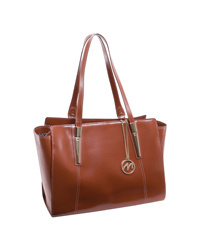 Aldora Leather Shoulder Tote