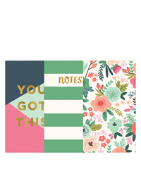 On Trend Planner Love Notebooks 3 Pack