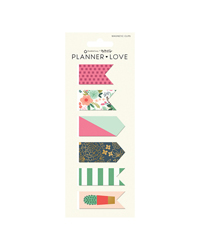 On Trend Planner Love Magnet Clips