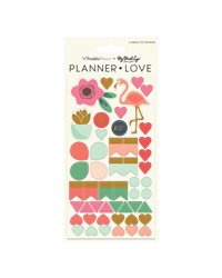 On Trend Planner Love Sticker Sheets