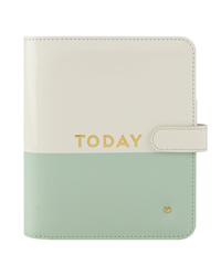 Today Planner Love Simulated Leather Binder