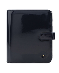 Navy Planner Love Simulated Leather Binder