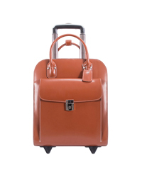 Uptown Vertical Wheeled Ladies' Briefcase