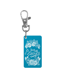 Keychain Charm - Just Breathe