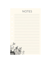 Blush Florals Planner Love Lined Notepad