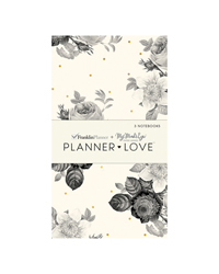Blush Florals Planner Love Notebooks 3-Pack