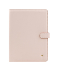 Blush Planner Love Simulated Leather Wire-bound Cover