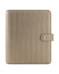 Ellie Simulated Leather Snap Binder