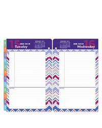 RetroPop One-Page-Per-Day Ring-bound Planner