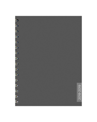 Charcoal Medium Weekly/Monthly Academic Year Planner - 2018/2019