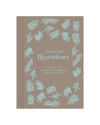 Collected Quotations Journal