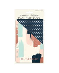 Brushed Planner Love Pocket Dividers