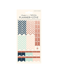 Brushed Planner Love Sticker Sheets