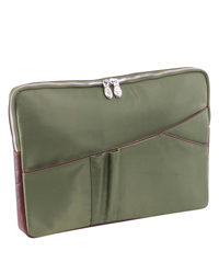 "Crescent Nylon 14"" Laptop Sleeve"