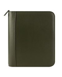 FC Signature Leather Zipper Binder
