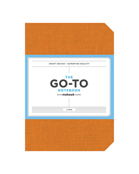 Go-To Notebook Lined Persimmon Orange