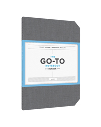 Go-To Notebook Lined Slate Grey