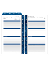 Monticello Weekly Ring-bound Planner