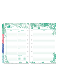 Flora Daily Ring-bound Planner