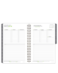 The 5 Choices Weekly Wire-bound Planner