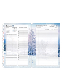 Seasons Daily Ring-bound Planner
