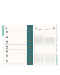Splendor Planner Love Weekly Wire-bound Planner