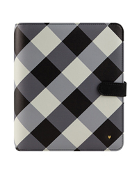 Gingham Farm Planner Love Simulated Leather Snap Binder