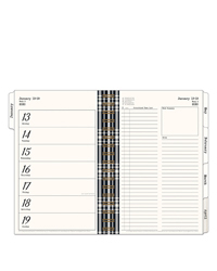 Gingham Farm Planner Love Weekly Wire-bound Planner