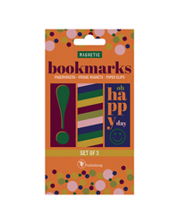 Magnetic Bookmarks - Pack of 3