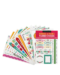 Essentials Borders & Frames Planner Stickers